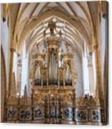 Organ Of The Gothic-baroque Church Of Maria Saal Canvas Print