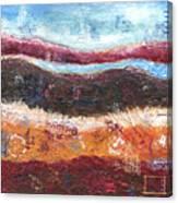 Organic Abstract Canvas Print