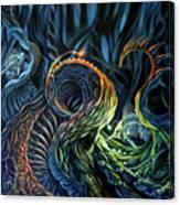 Organic Underworld Canvas Print
