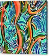 Orgy Oncorynchus Canvas Print