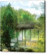 Orient - Bridge - Chinese Bridge  Canvas Print
