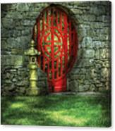 Orient - Door - The Moon Gate Canvas Print