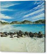Orient Beach Canvas Print