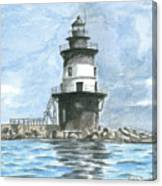Orient Point Lighthouse Canvas Print