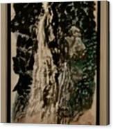 Oriental Falls Canvas Print