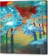 Oriental Forest Canvas Print