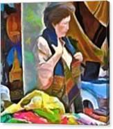 Oriental Merchant Canvas Print