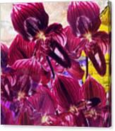 Oriental Orchid Garden Canvas Print