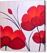 Oriental Poppies Canvas Print