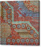 Oriental Rug Detail. Canvas Print