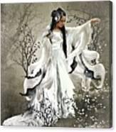 Oriental Sprinkle Canvas Print