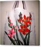 Original Hand Painted Tote Bag Canvas Print