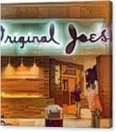 Original Joe's Dynamic  Canvas Print
