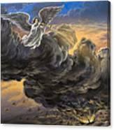 Fifth Trumpet Angel Canvas Print
