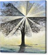 original Tree Light Canvas Print