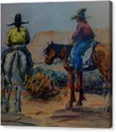 Original Western Artwork 23 Canvas Print