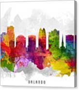 Orlando Florida Cityscape 13 Canvas Print