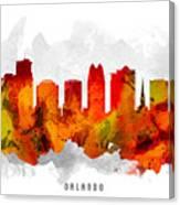 Orlando Florida Cityscape 15 Canvas Print