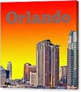 Orlando Skyline Canvas Print