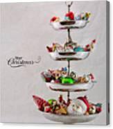 Ornament Compote Canvas Print