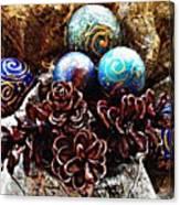Ornaments 6 Canvas Print