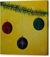 Ornaments Canvas Print