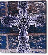 Ornate Cross 2 Canvas Print