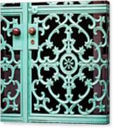 Ornate Doors Canvas Print