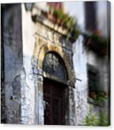 Ornate Italian Doorway Canvas Print