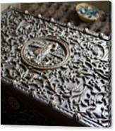 Ornate Wooden Chest Canvas Print