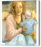 Orphans And Widows Canvas Print