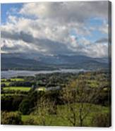 Orrest Head And Windermere Canvas Print