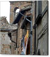 Orvieto Laundry Canvas Print