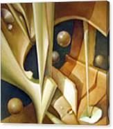 Os1980dc007 Celestial Globe No.7 24x28.25 Canvas Print