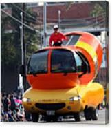 Oscar Mayer Wienermobile Canvas Print