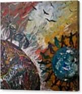 Osho's Vision Canvas Print