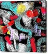 Osile Multicolor Canvas Print