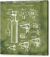 Otoscope Patent 1927 Grunge Canvas Print