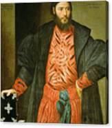 Ottaviano Grimani. Procurator Of San Marco Canvas Print