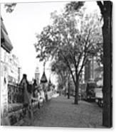 Ottawa Sidewalk Canvas Print