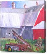Otter Creek Winery Canvas Print