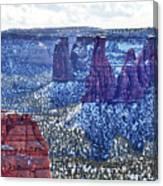 Otto Trail Overlook Canvas Print
