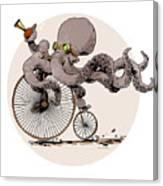 Otto's Sweet Ride Canvas Print