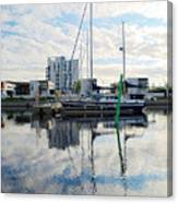 Oulu From The Sea 1  Canvas Print