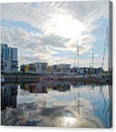 Oulu From The Sea 2 Canvas Print