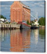 Oulu From The Sea 3 Canvas Print