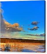 Ounce In A Blue Moon Canvas Print