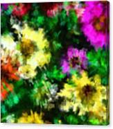 Our Garden 2 Canvas Print