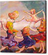Our Girls Dance Canvas Print