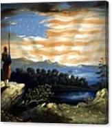 Our Heaven Born Banner Canvas Print